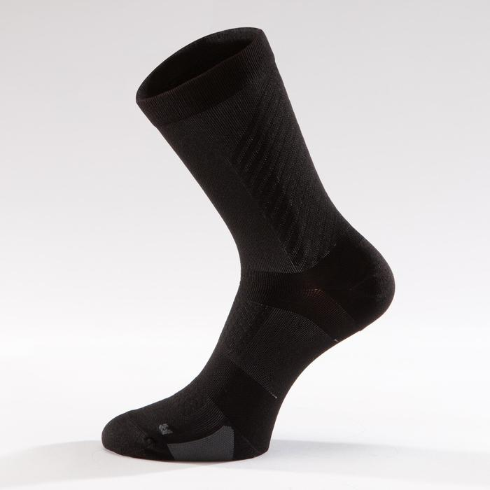 CALCETINES CICLISMO VANRYSEL ROADR 900 NEGRO GRIS