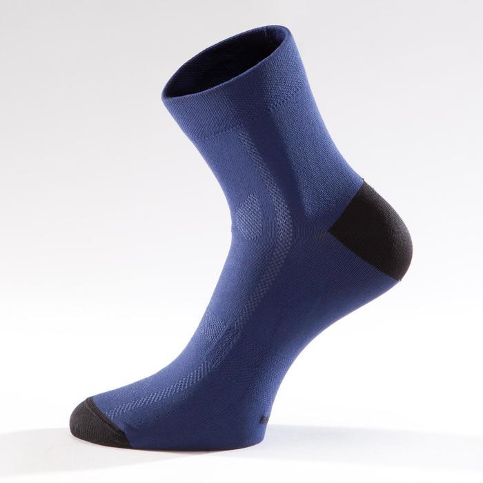 Fahrrad-Socken Rennrad RR 500 marineblau