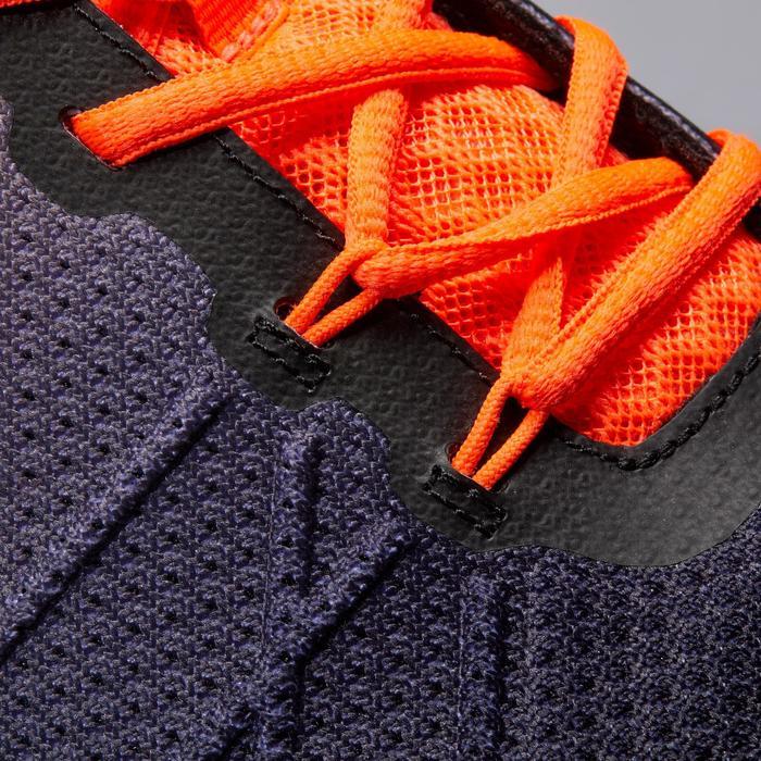 Tennisschoenen voor gravel TS590 zwart/oranje