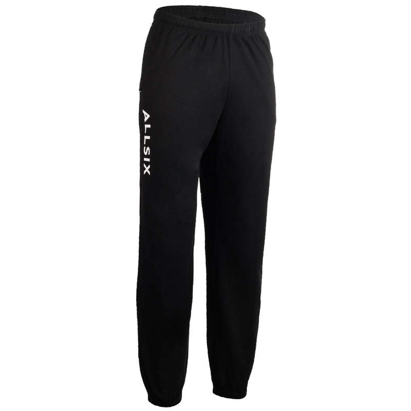 VOLLEY BALL APPAREL Volleyball and Beach Volleyball - V 100 Adult Training Sweatpants - Black ALLSIX - Volleyball and Beach Volleyball