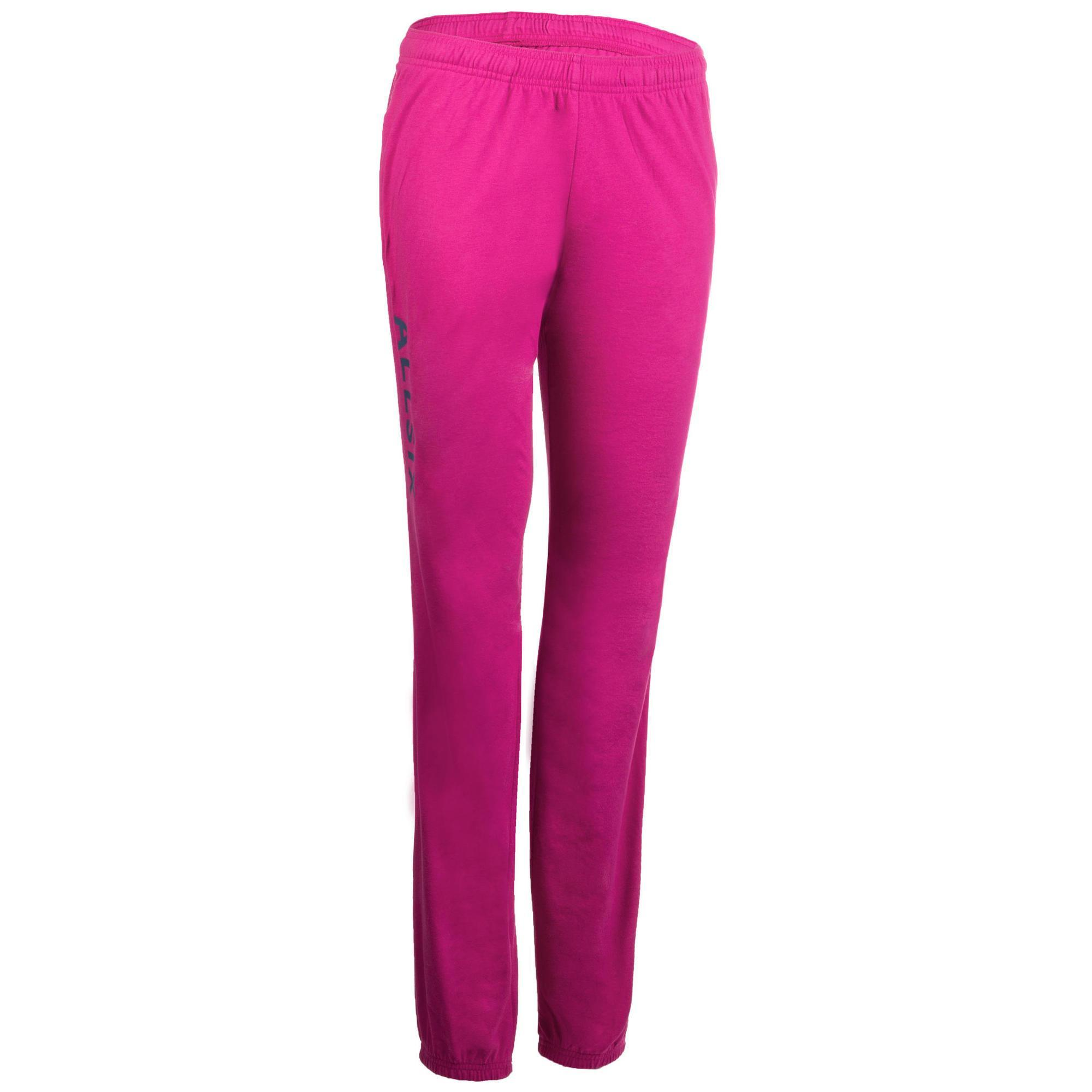 Pantalon de volley ball v100 femme rose allsix