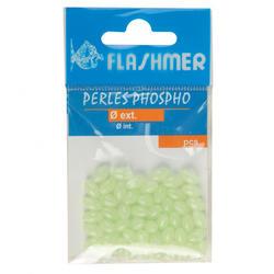 Perlen phosphoreszierend 6×30mm Meeresangeln