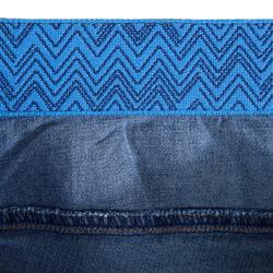 Klimjeans voor heren stretch blauw