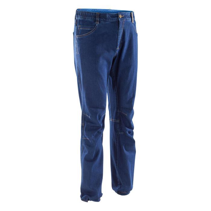 Kletterhose Komfort II Herren blau