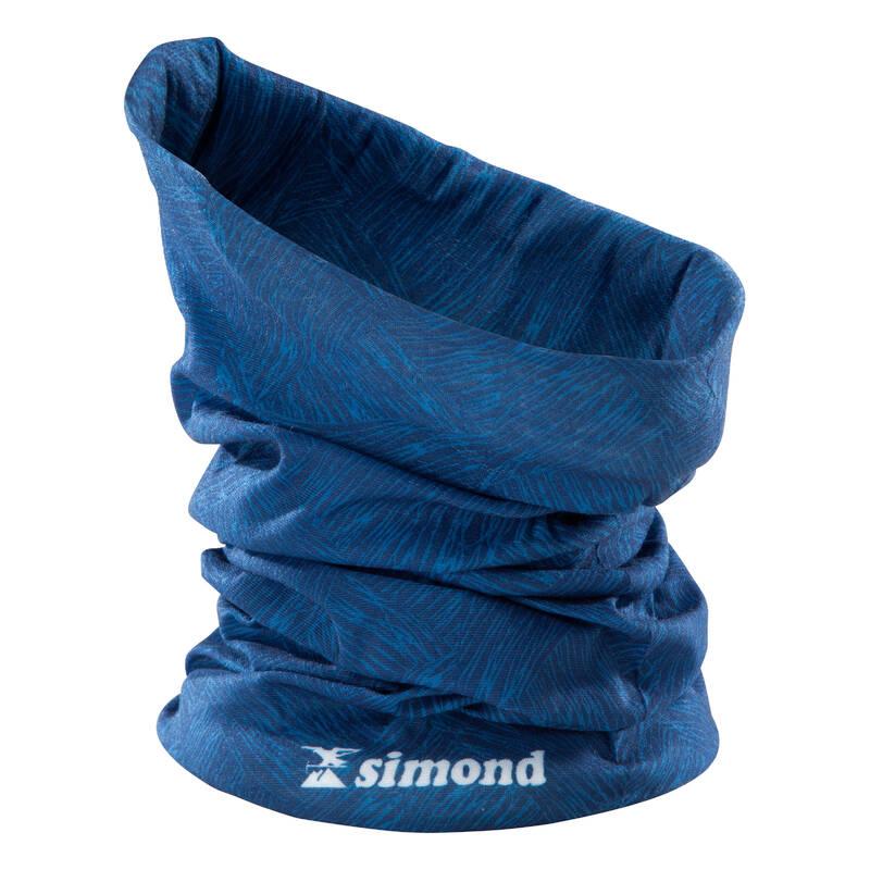 OBLEČENÍ NA ALPINISMUIS Lezení - NÁKRČNÍK ALPINISM MODRÝ SIMOND - Lezecké oblečení
