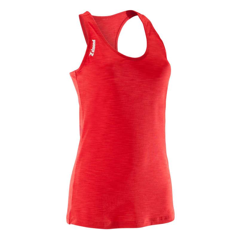 CLIMBING CLOTHING - WOMEN'S EDGE TANK TOP RED SIMOND