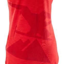 Technisches Kletter-Top Edge Damen rot