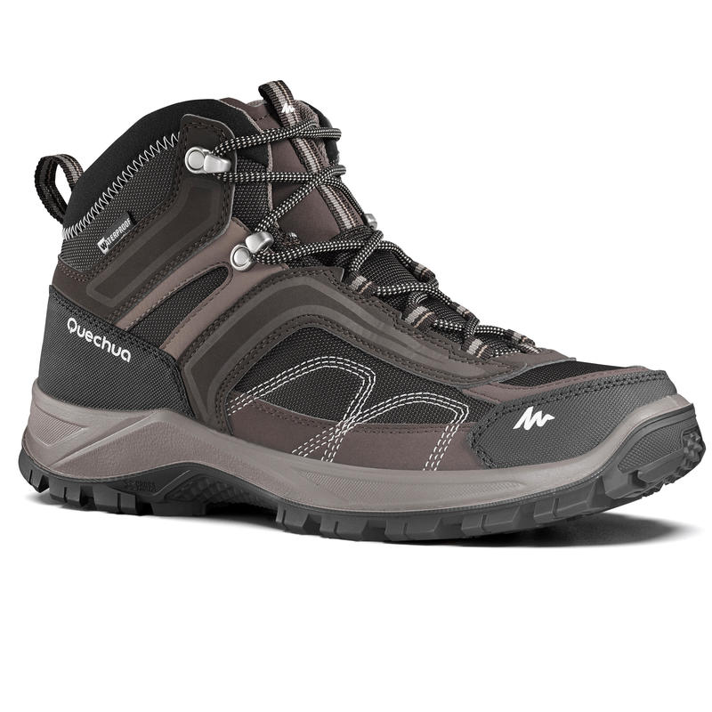 34227d079 Men s Hiking Shoes MH100 (Waterproof) - Brown