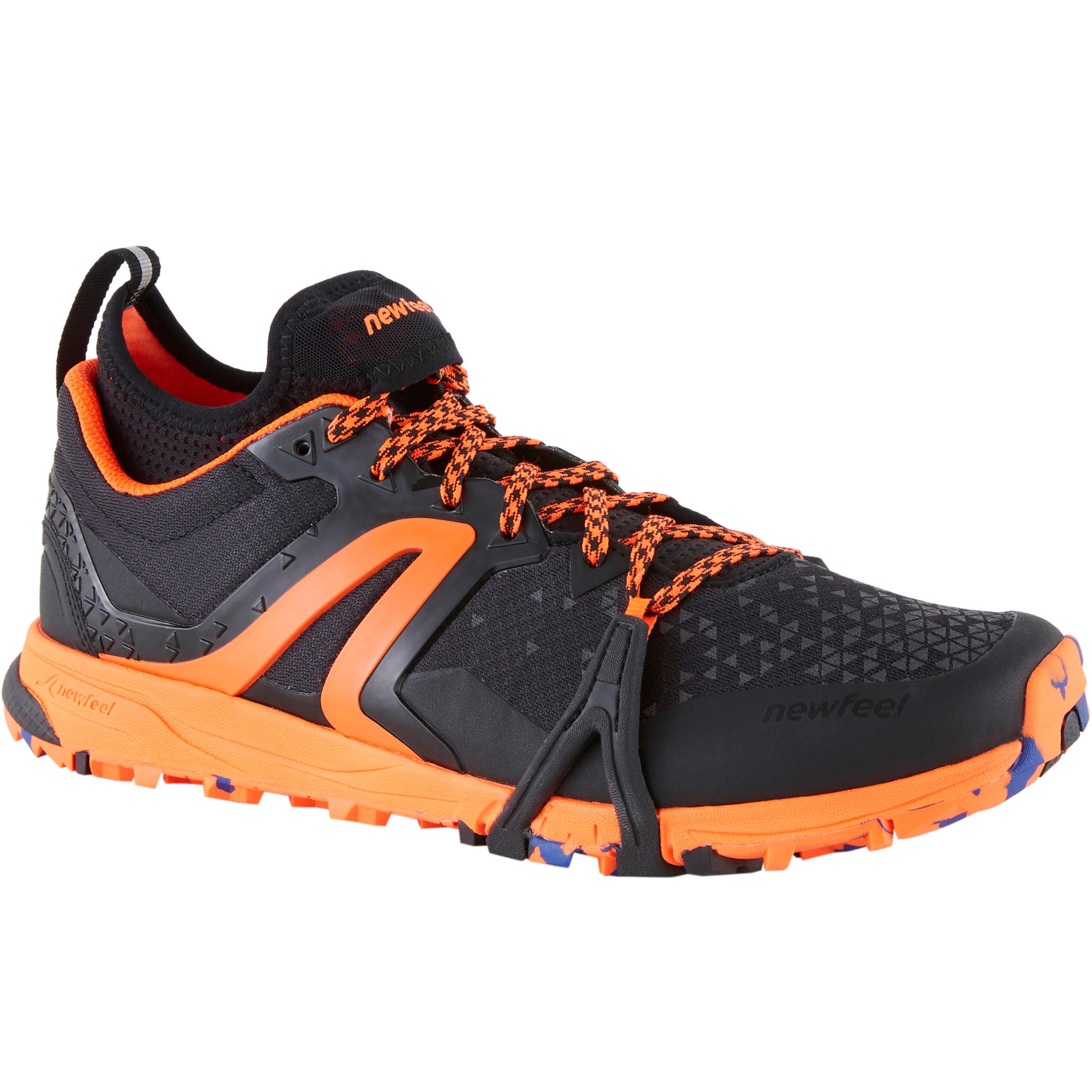 Chaussures de marche nordique homme NW 900 Flex-H noir / orange - Newfeel