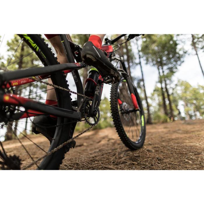 """MTB XC 100 S 27.5"""" 12s zwart en rood"""