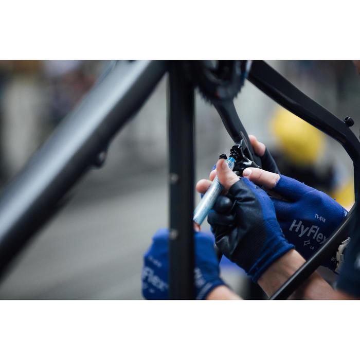 RACEFIETS MET PLAT STUUR VOOR WIELERTOERISME TRIBAN RC 500 (SCHIJFREMMEN)