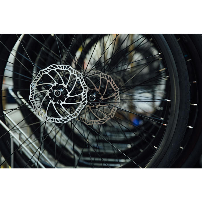 VELO ROUTE CINTRE PLAT CYCLOTOURISTE TRIBAN RC500 (FREIN DISQUE)