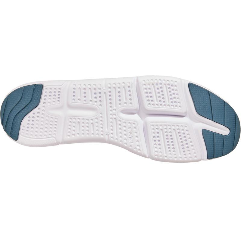 Walking shoes for men - PW 160 Slip-on Grey