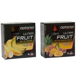 Vruchtenmoes Ultra Fruit 500 banaan 4x90 g - 162861