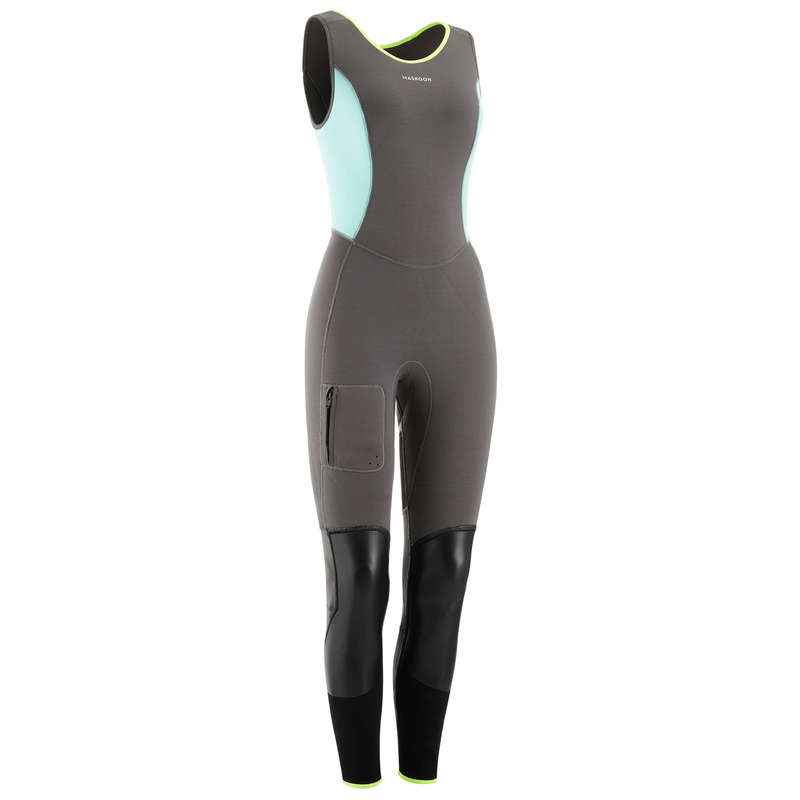 CANYONING GEAR Via ferrata Canyoning and Caving - CANYON 5MM WOMEN'S LONG JOHNS MASKOON - Sports