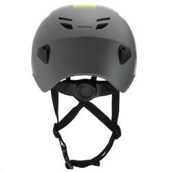 Helm Canyoning Erwachsene grau/gelb