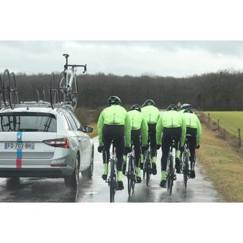Fahrrad Regenjacke Rennrad Herren schwarz