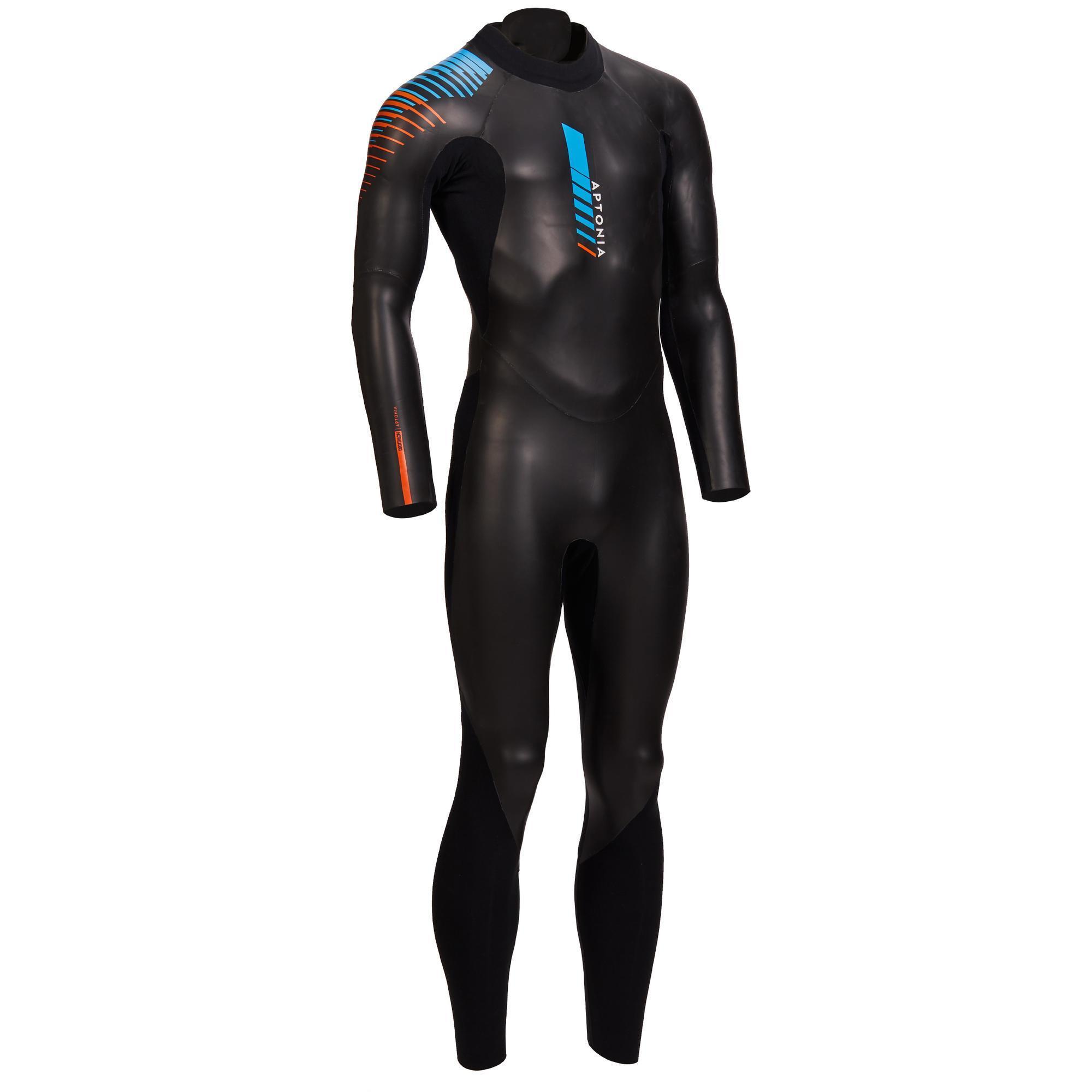 Neoprenanzug Triathlon SD 4/2 mm Herren | Sportbekleidung > Sportanzüge > Sonstige Sportanzüge | Aptonia