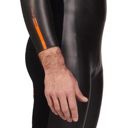 Neopreen herenwetsuit voor triatlon SD Aptonia
