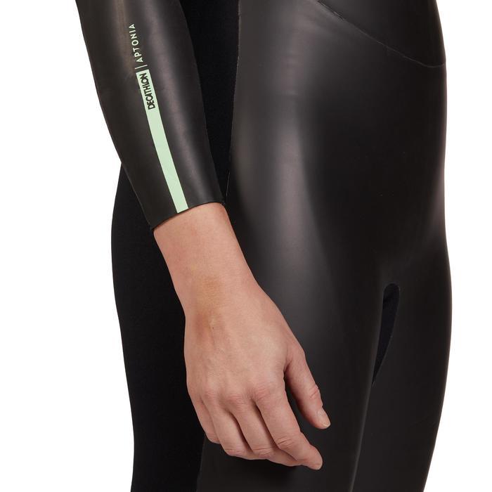 Traje Neopreno Triatlón 4 mm Aptonia Mujer SD Natación Aguas Abiertas