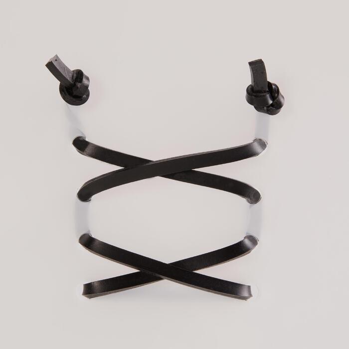 Siliconen snelveters Freelace TS zwart triatlon