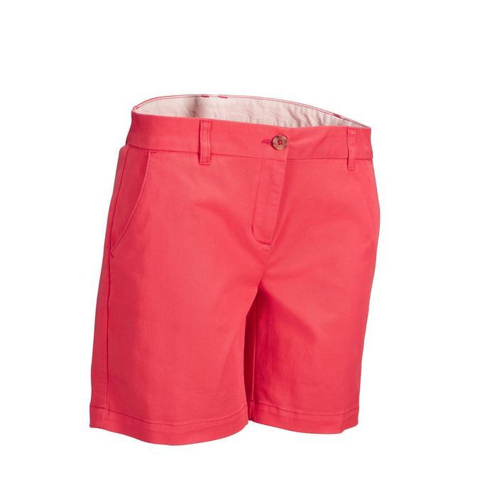 Golf Shorts Damen rosa/Erdbeere
