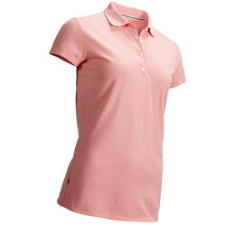 Women's Golf Polo Shirt - Pale Pink