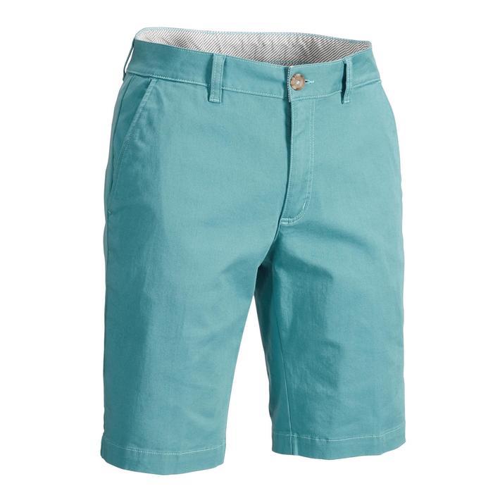 Short de golf pour hommes temps tempéré gris-bleu