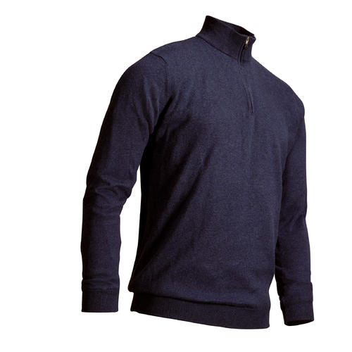 PULL DE GOLF WINDSTOPPER HOMME TEMPS TEMPERE MARINE