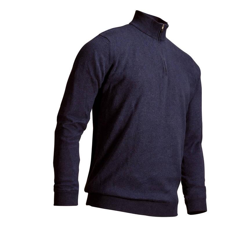 [EN] MEN GOLF PULLS & LS POLOS MW Golf - SVETR WINDSTOPPER TMAVĚ MODRÝ INESIS - Golfové oblečení