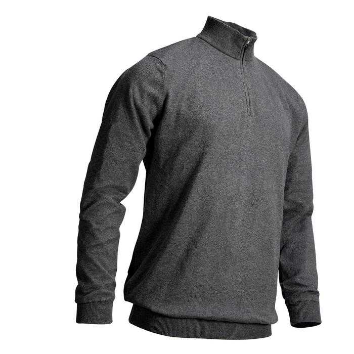 PULL WINDSTOPPER HOMME TEMPS TEMPERE GRIS FONCE