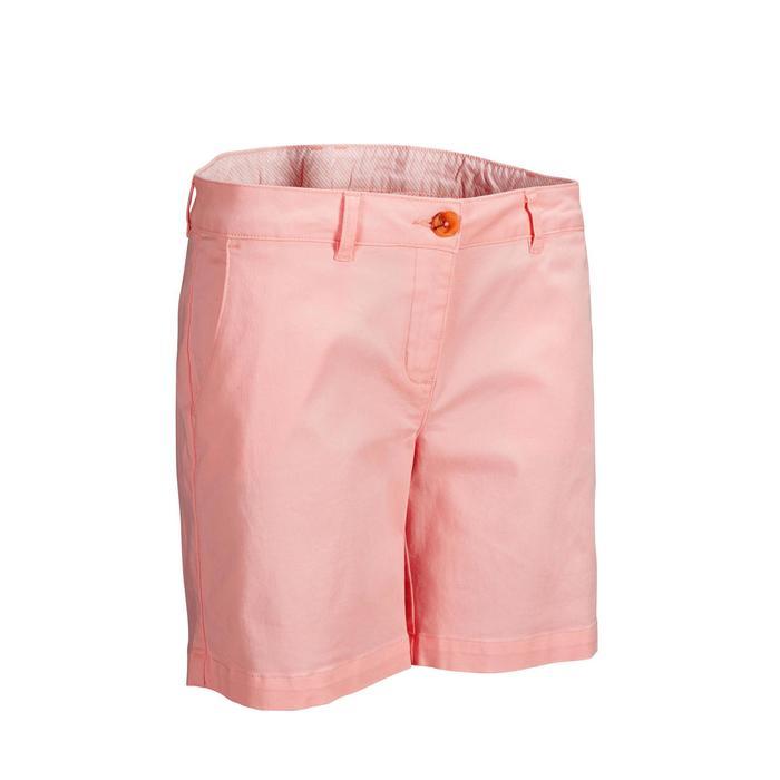 Golf Bermuda Shorts Damen hellrosa