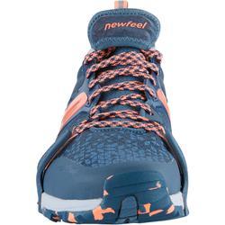 Zapatillas de marcha nórdica mujer NW 900 Flex-H gris/coral