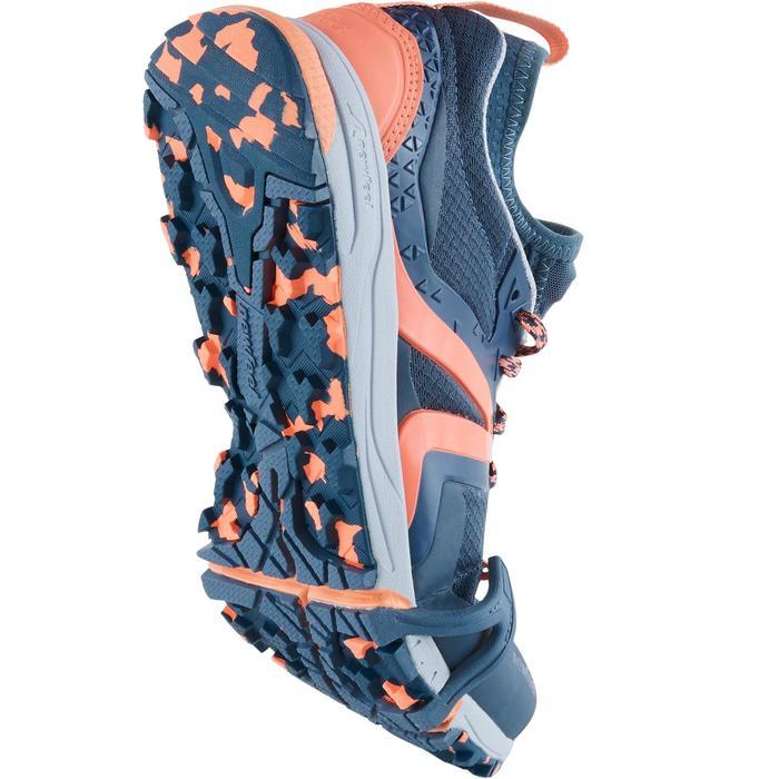 NordicWalkingschuhe NW900 FlexH Damen graublau/koralle