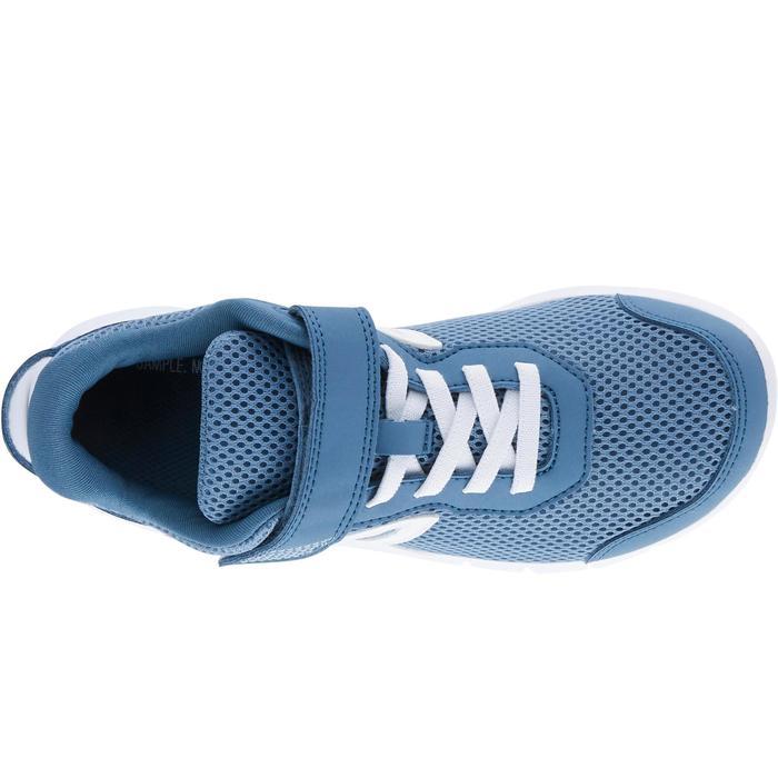 Kindersneakers voor wandelen Soft 140 Fresh grijs