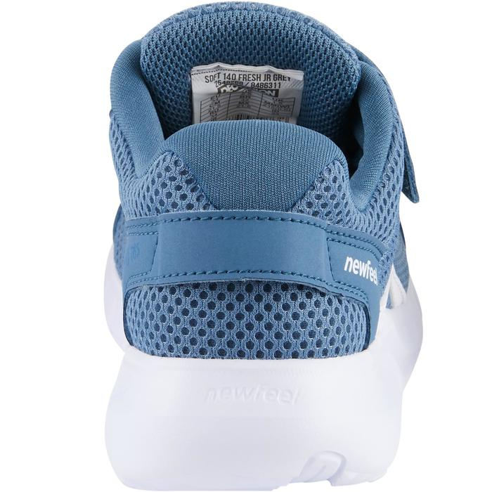 Zapatillas Caminar Newfeel Soft 140 Fresh Niños Azul/Blanco
