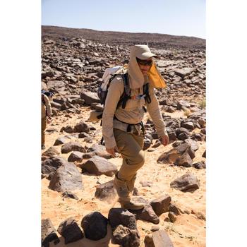 Gorra Trekking Desierto Forclaz Desert 500 anti-UV marrón