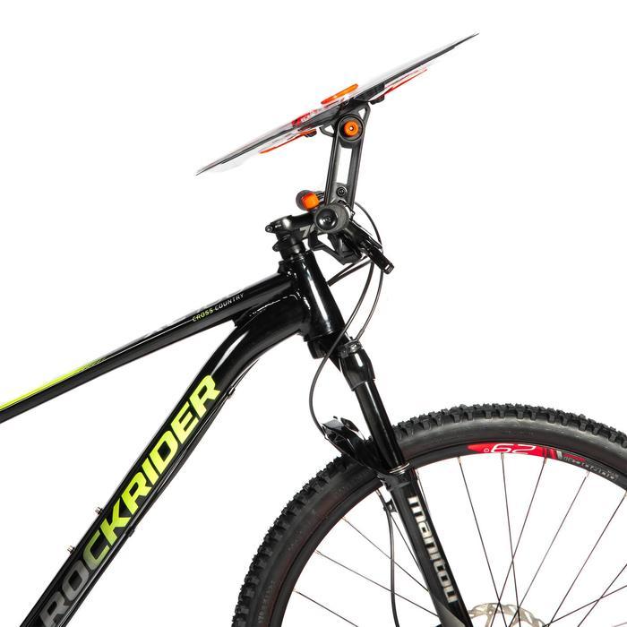 Richtbare kaarthouder voor mountainbike voor oriëntatielopen en multisport-raids