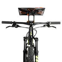 Rotating mountain bike orienteering and adventure race map holder