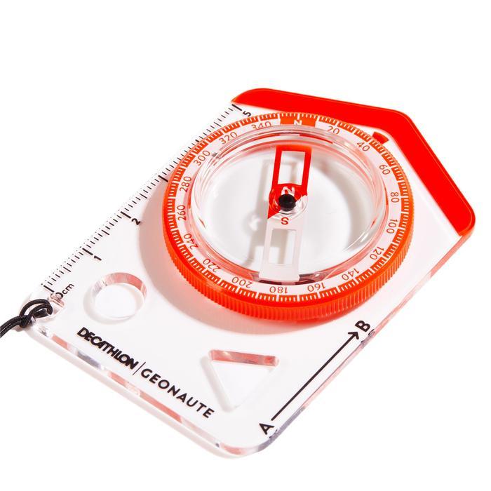Boussole plaquette débutant course d'orientation Begin 100