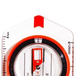 Boussole plaquette pour course d'orientation ou randonnée Explorer 500