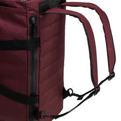 Tas voor cardiofitness 40 liter bordeaux