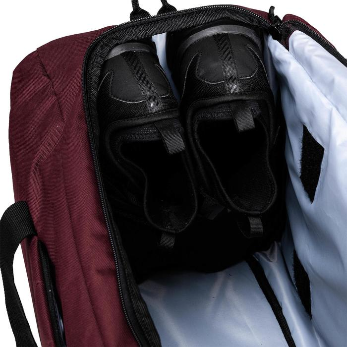 Bolsa fitness cardio-training 40 Litros burdeos