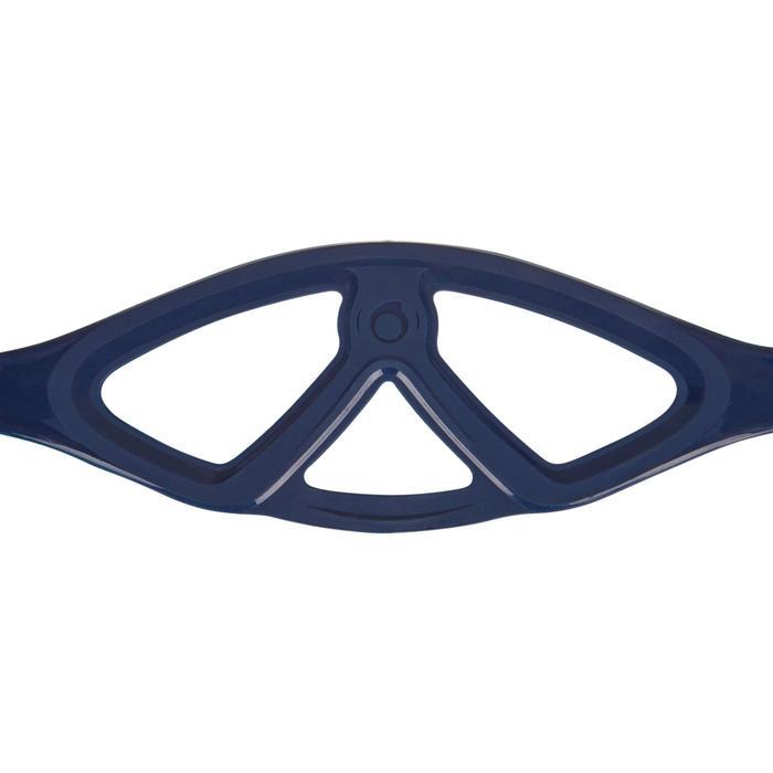 潛水單面鏡(側裙)SCD 500-藍色