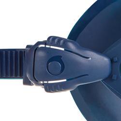 Duikbril SCD 500 eendelige lens met blauwe mantel