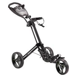 Driewiel golftrolley Compact zwart