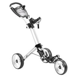 Driewiel golftrolley Compact wit