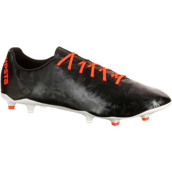 Chaussure de football adulte terrains secs CLR900 FG orange bleue - 162962