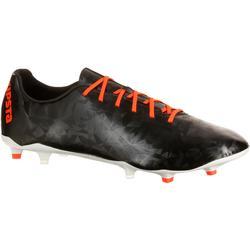 Chaussure de football adulte terrains secs CLR900 FG orange bleue