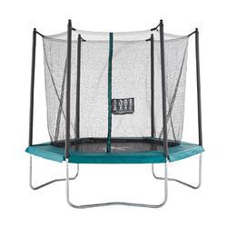 Trampoline pour accompagner votre enfant dans l'apprentissage des sauts de base.